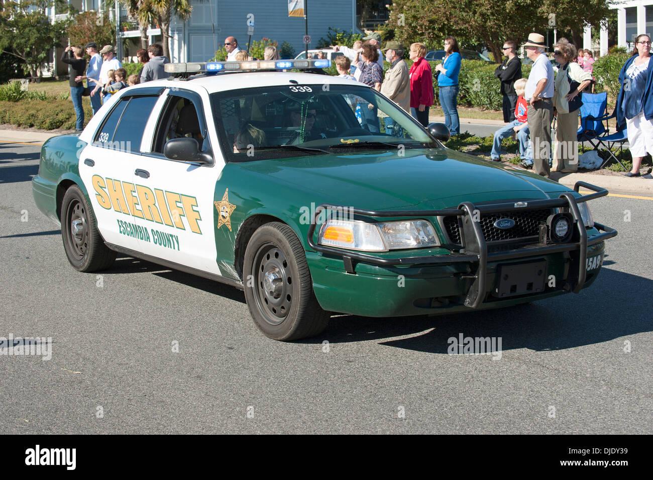 Sheriff car Escambia County Florida USA Stock Photo ...