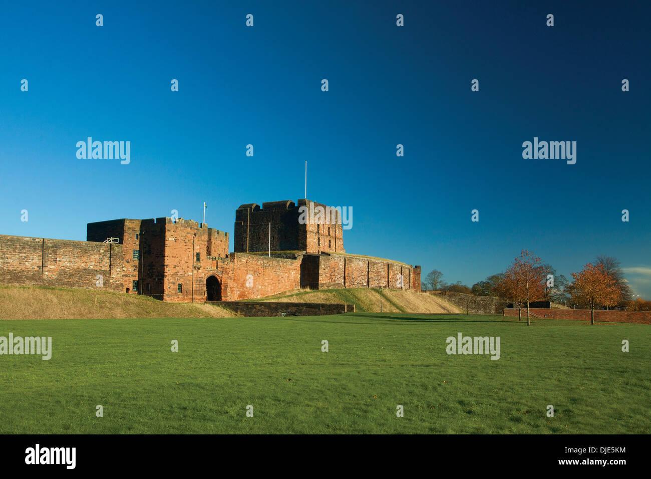 Carlisle Castle, Carlisle, Cumbria - Stock Image