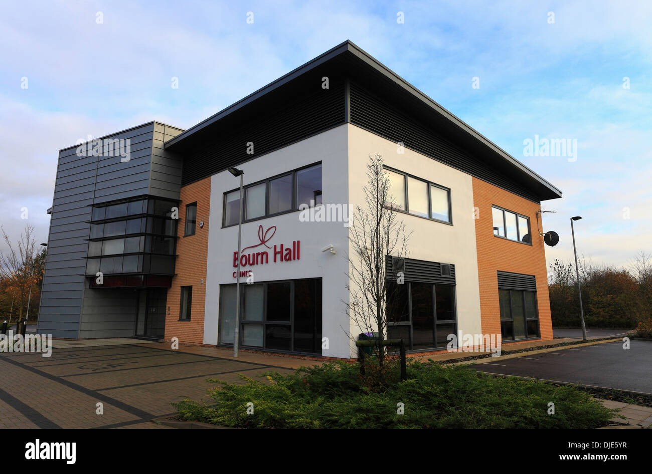Bourn Hall fertility clinic at Wymondham in Norfolk. - Stock Image