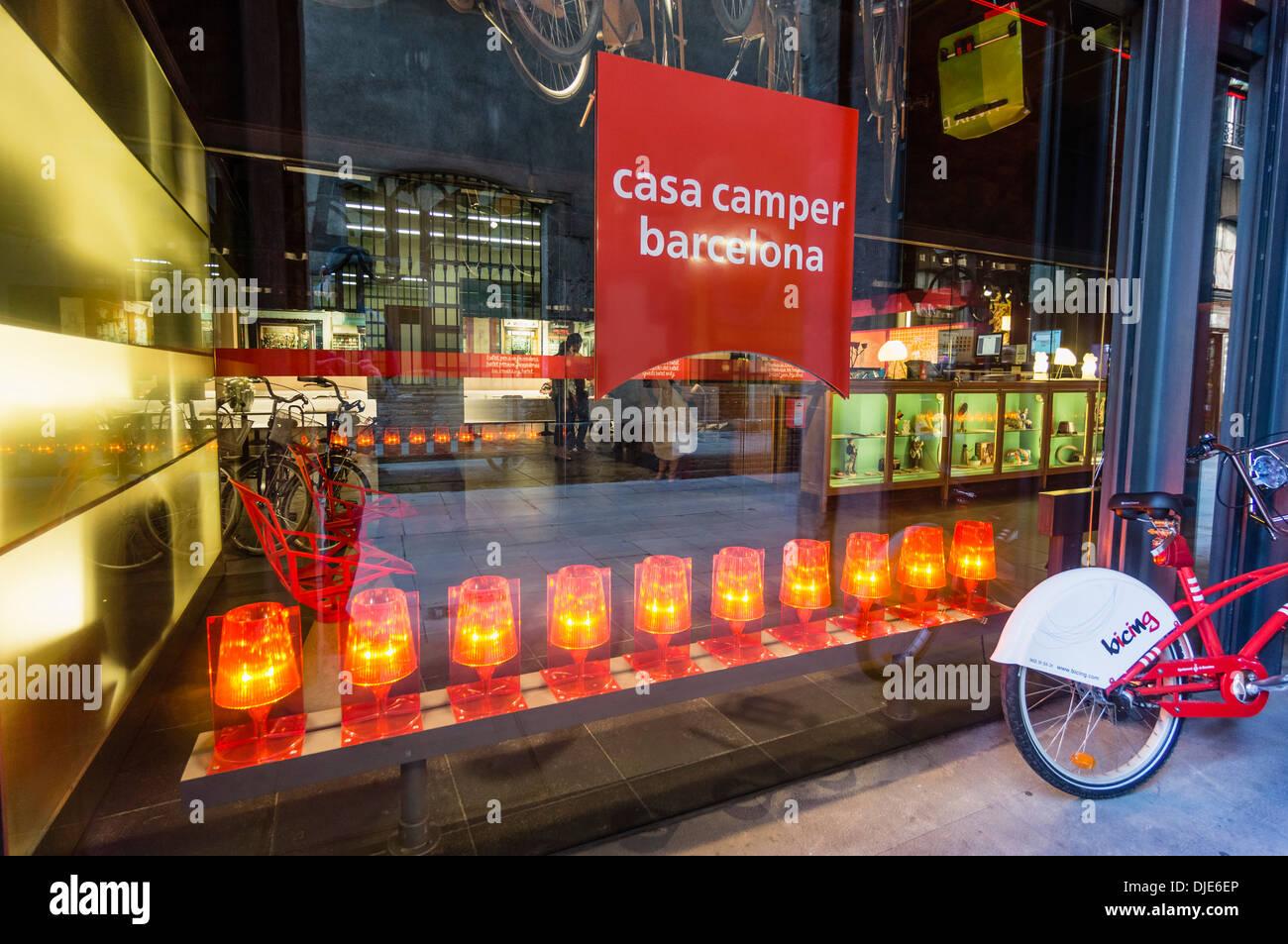 Casa Camper Design Hotel, Barcelona, Spain - Stock Image