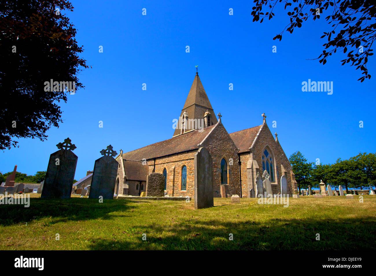 St.Ouen's Church, St. Ouen, Jersey, Channel Islands Stock Photo ...