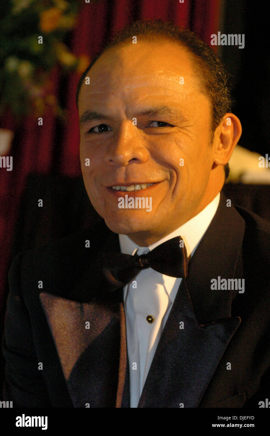 Oct 16, 2004; Commerce, CA, USA; Former Super Bantamweight Champion DANIEL ZARAGOZA at The 25th Annual World Boxing Hall of Fame Banquet held at The Commerce Casino. - Stock Image