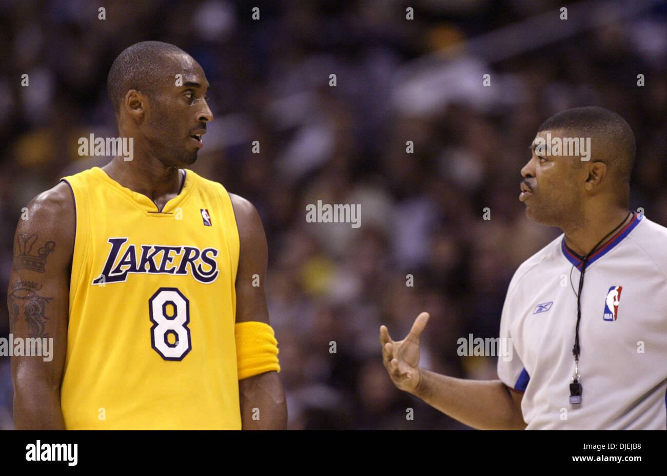 classic fit a748a be7e0 Nov 17, 2004; Los Angeles, CA, USA; Los Angels Lakers (8 ...