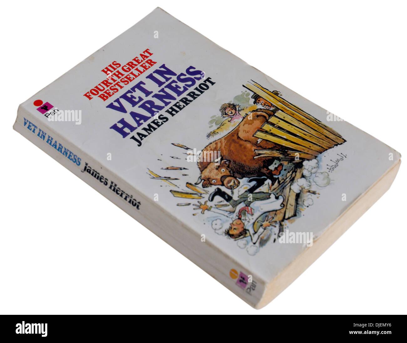 Vet in Harness by James Herriot - Stock Image