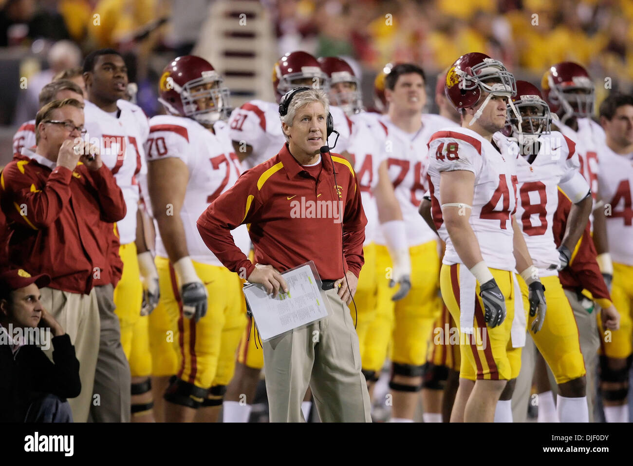 Pete Carroll Usc High Resolution Stock Photography And Images Alamy