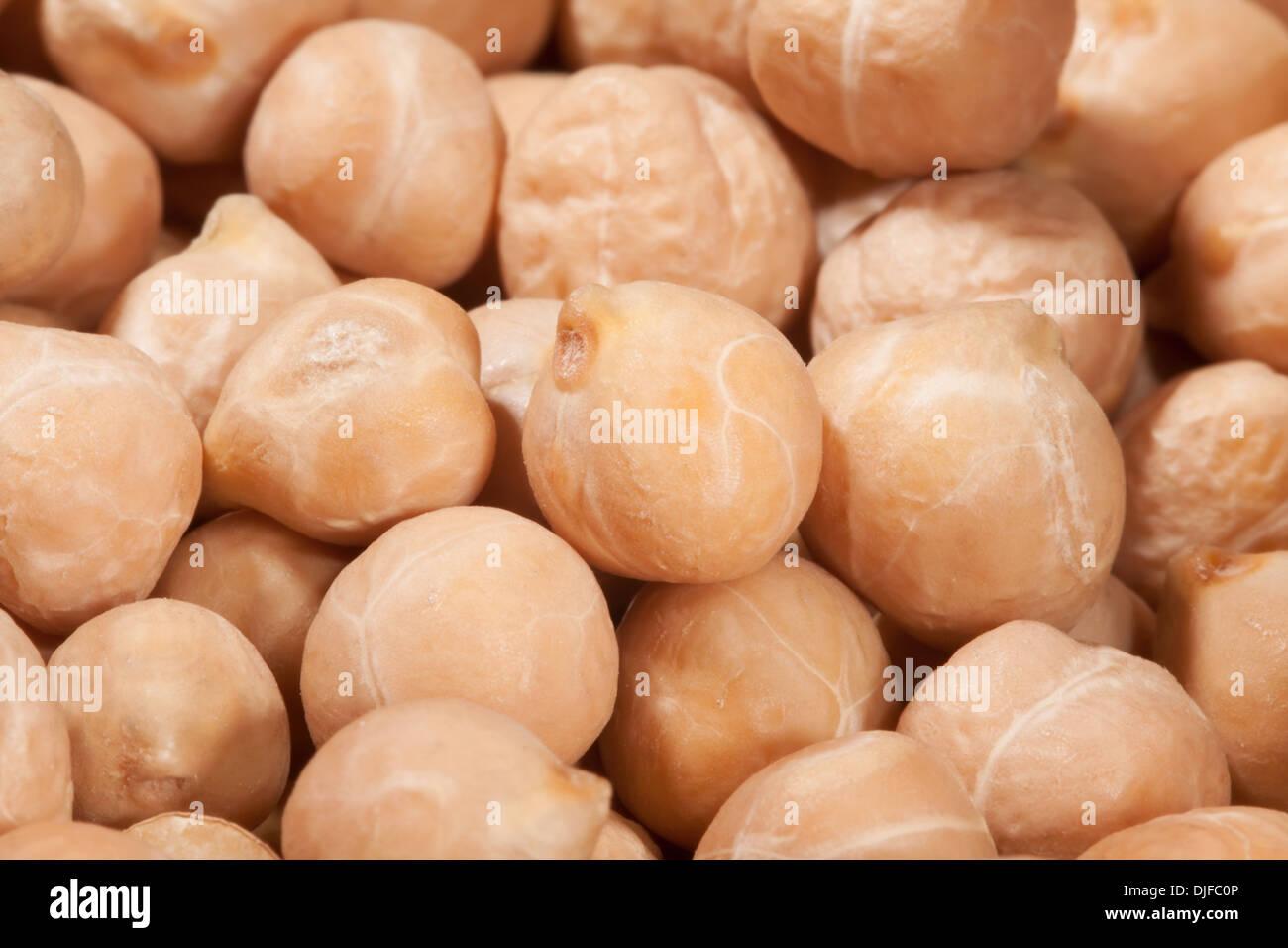 peas closeup macro many textured - Stock Image