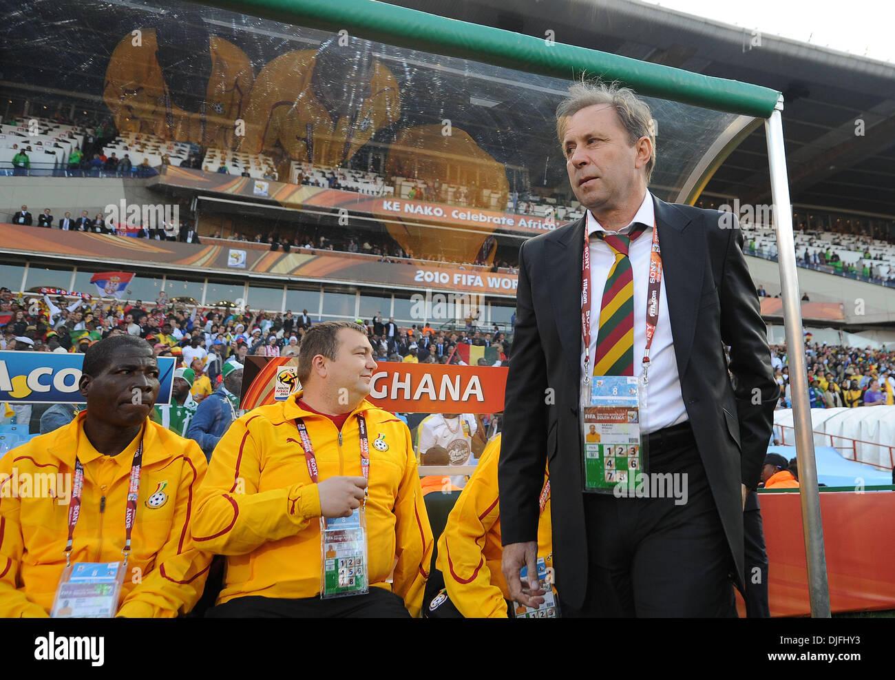 Ghana Coach Milovan Rajevac High Resolution Stock Photography and Images - Alamy