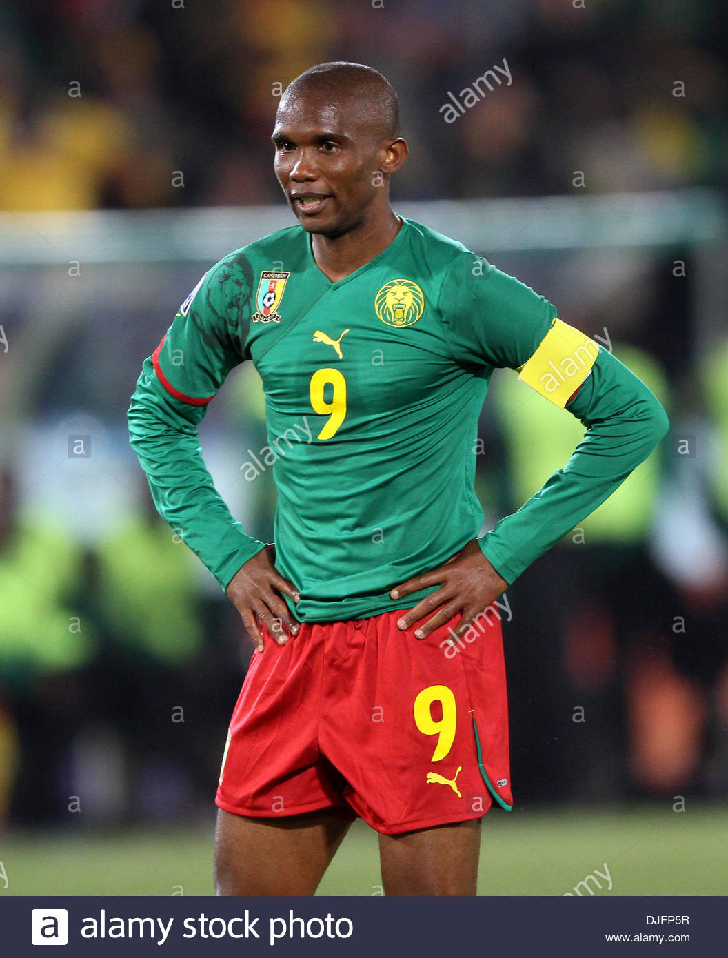 cececc69c2b Cameroon s Samuel Etoo in action ..FIFA World Cup 2010 Group E..Cameroon