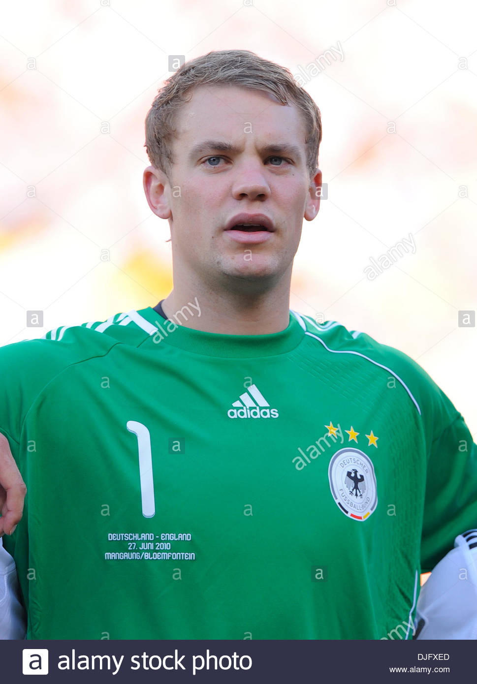 promo code 4c41e cd1a6 Manuel Neuer of Germany..FIFA World Cup 2010 Round of 16 ...