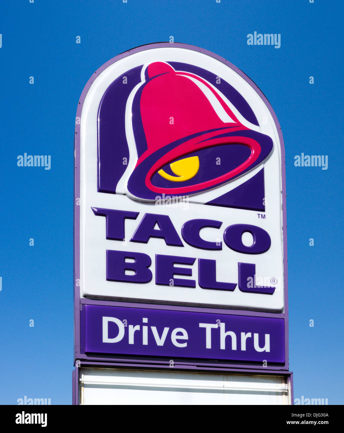 Taco Bell Sign Stock Photos Taco Bell Sign Stock Images Alamy