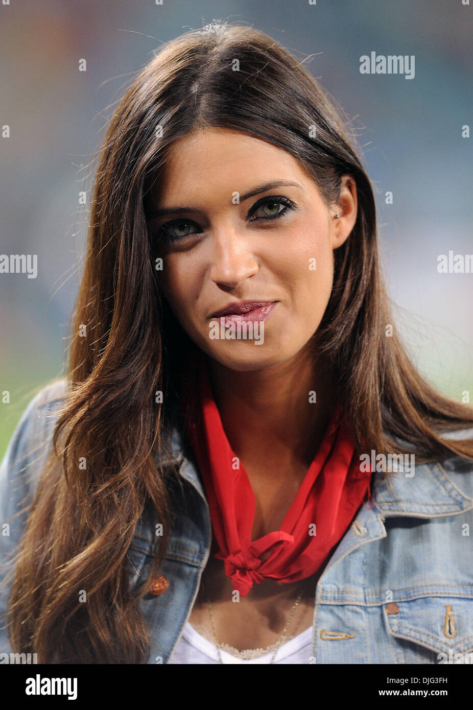 Iker Casillas Girlfriend Sara Carbonero Stock Photos ...