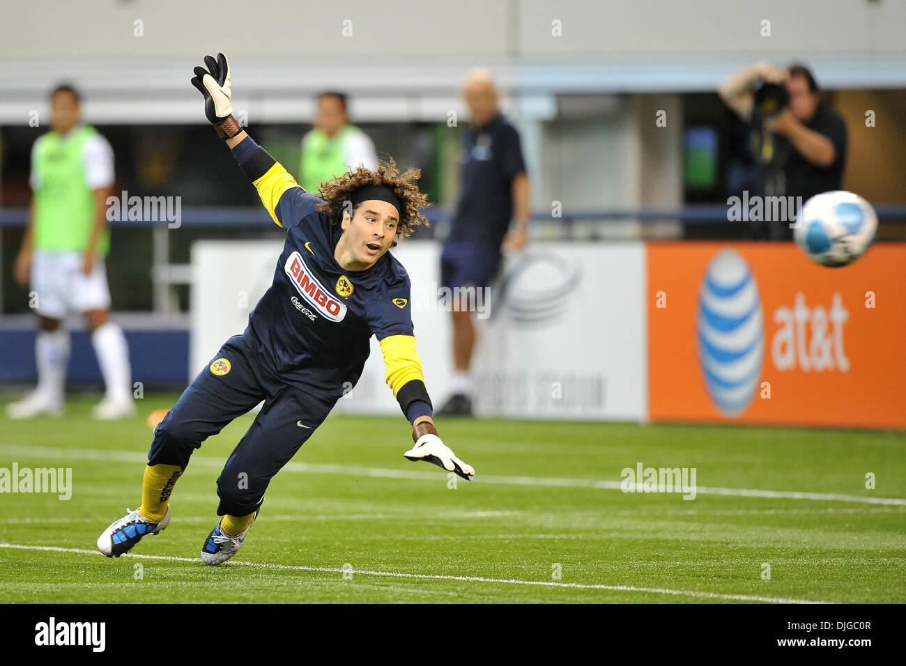 8a12c87b2 Club America goal keeper Ochoa Guillermo  1 during the MLS Club America vs.  San Luis FC game at Cowboys Stadium in Arlington
