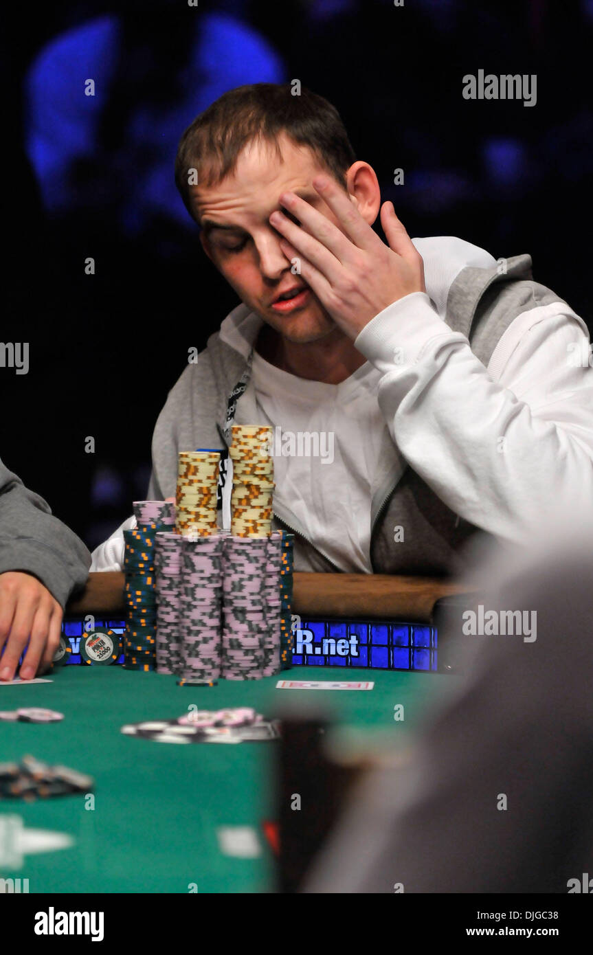 July 17, 2010 - Las Vegas, Nevada, USA - Poker player JOHN
