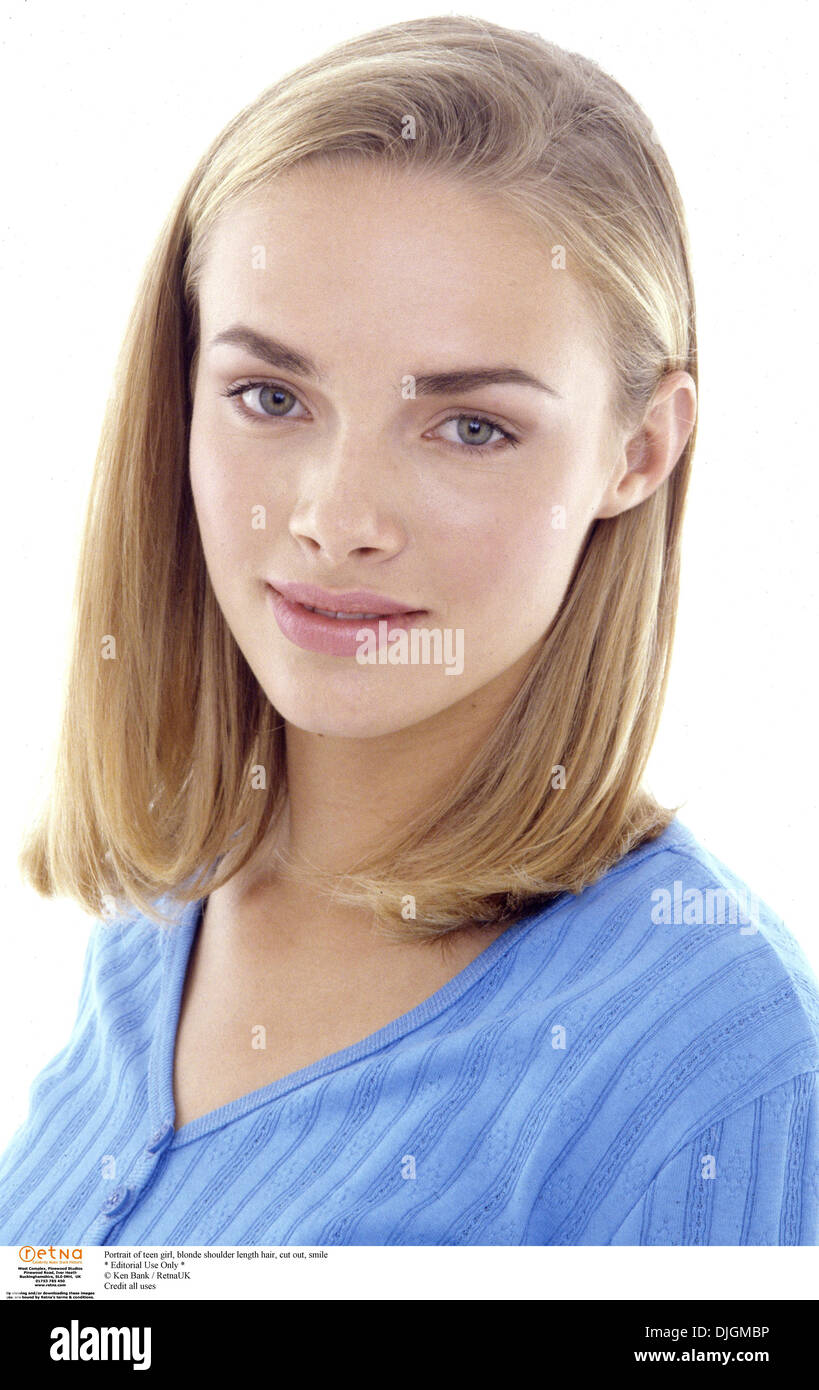 Shoulder Length Hair High Resolution Stock Photography And Images Alamy