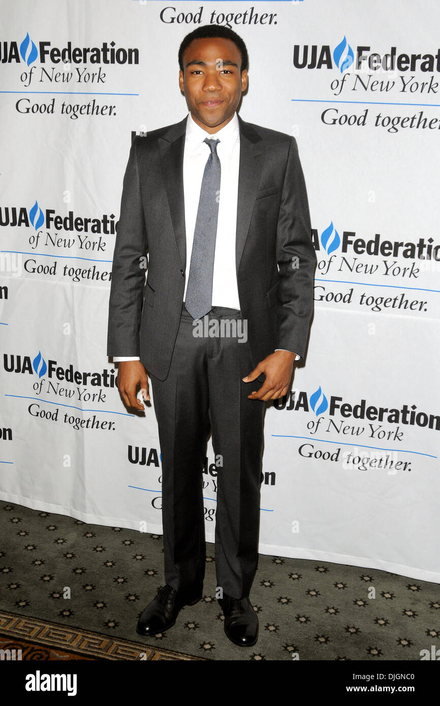 Donald Glover 2012 Music Visionary of the Year Award Luncheon, held at The Pierre Hotel - Arrivals New York City, - Stock Image
