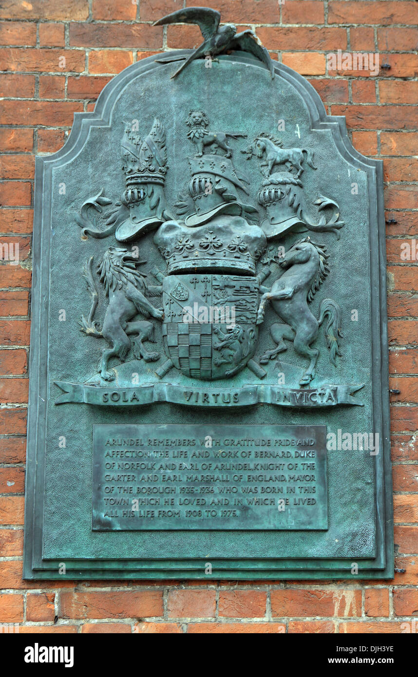 Memorial Plaque to the men who fell in the South African defence of the Empire 1899 - 1902 - Stock Image