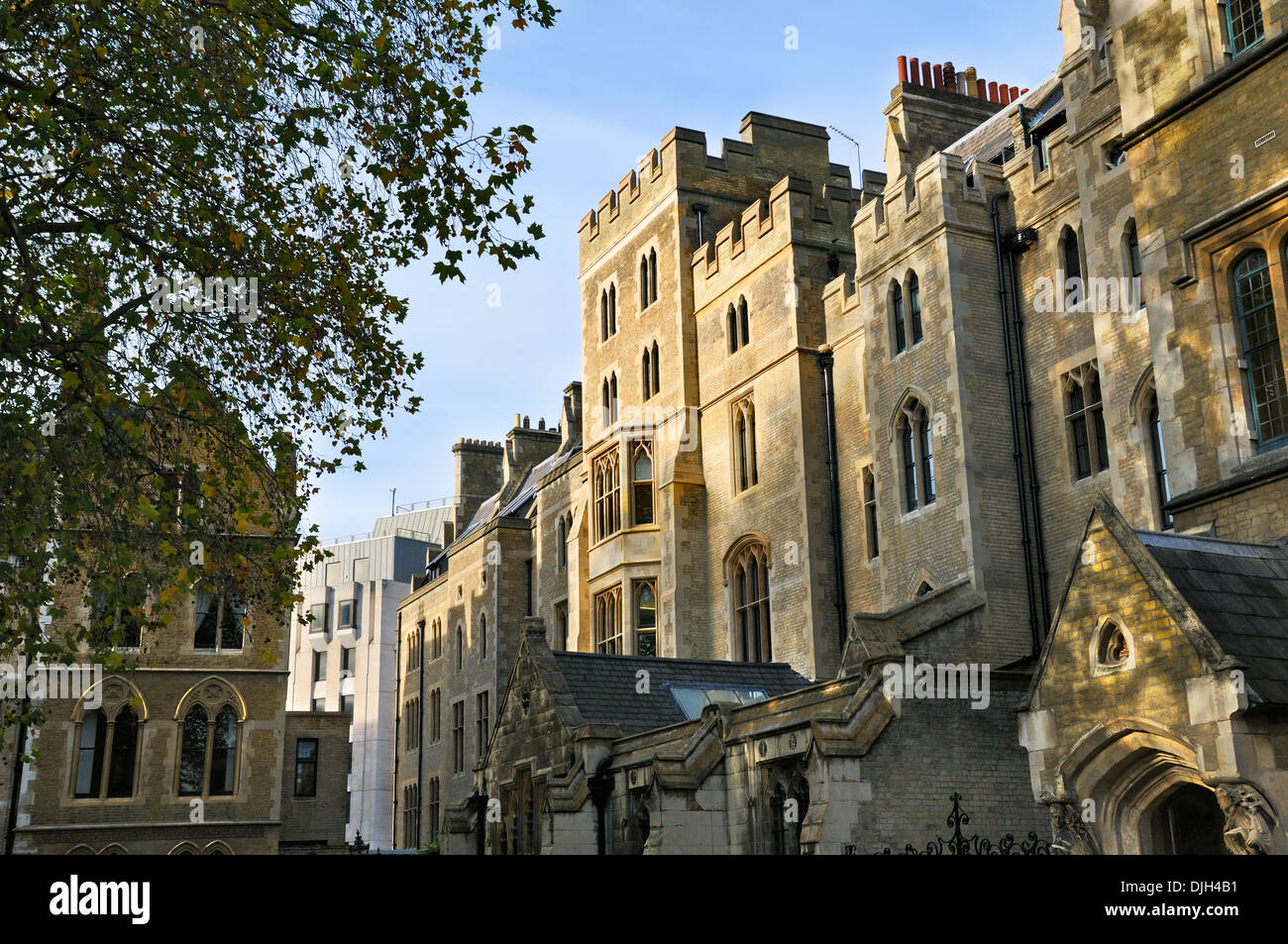 Dean's Yard, Westminster, London, England, UK - Stock Image