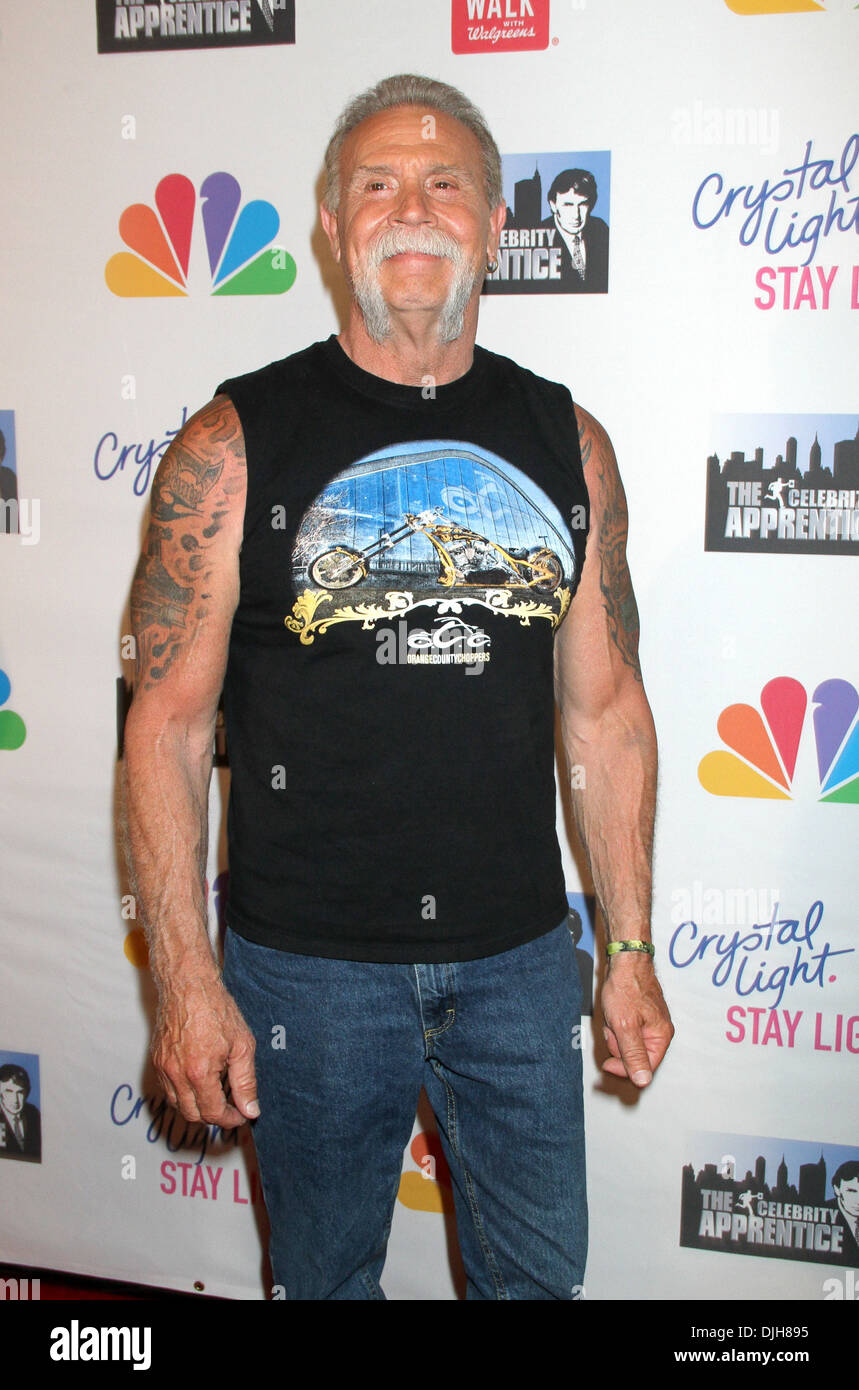 Paul Teutul, Sr. attends the 'Celebrity Apprentice' Live ...