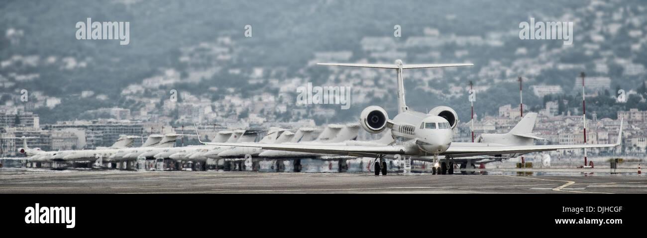 Bombardier G5 aircraft - Stock Image