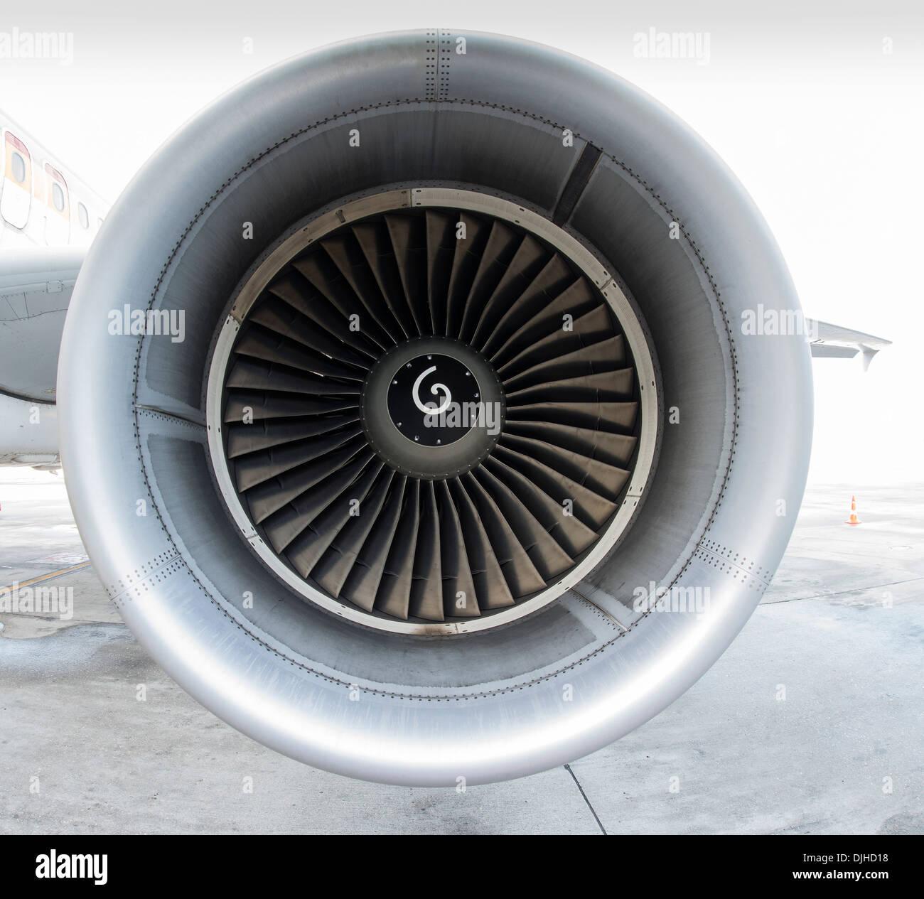 Turbofan - Stock Image