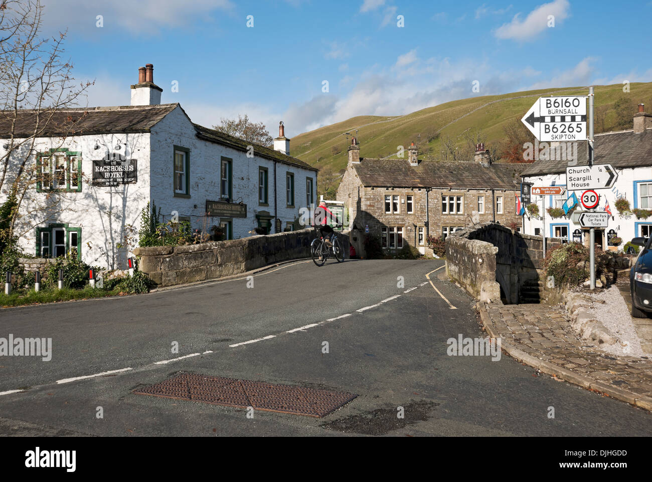 Kettlewell Yorkshire Dales North Yorkshire England UK United Kingdom GB Great Britain - Stock Image