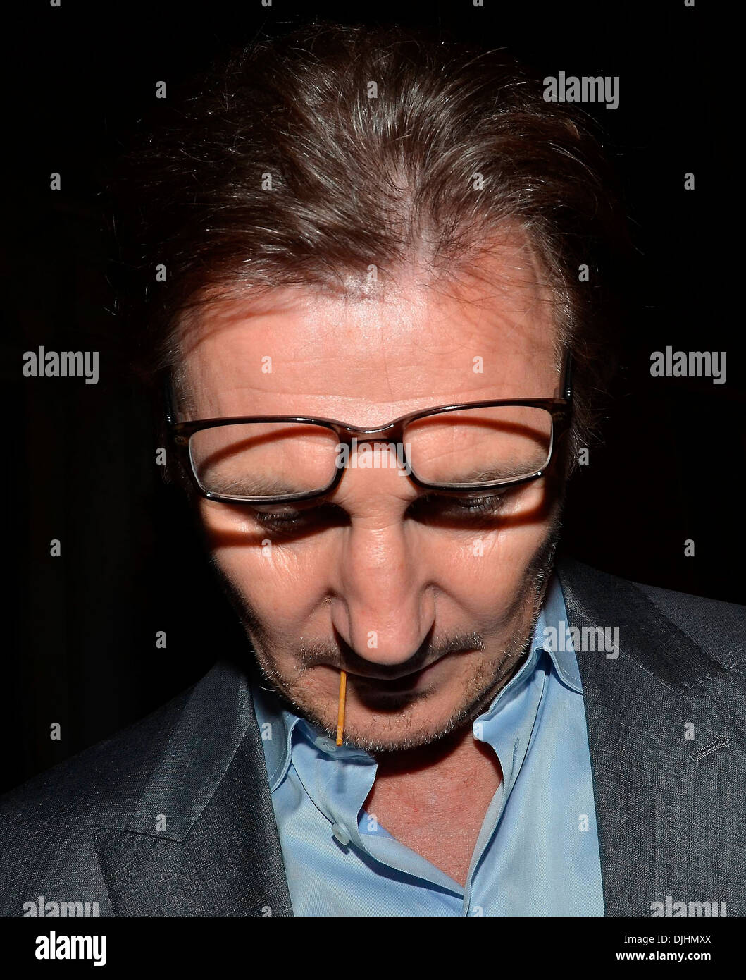 Actor Liam Neeson Celebrities spotted at The Merrion Hotel Dublin, Ireland - 01.06.12. - Stock Image