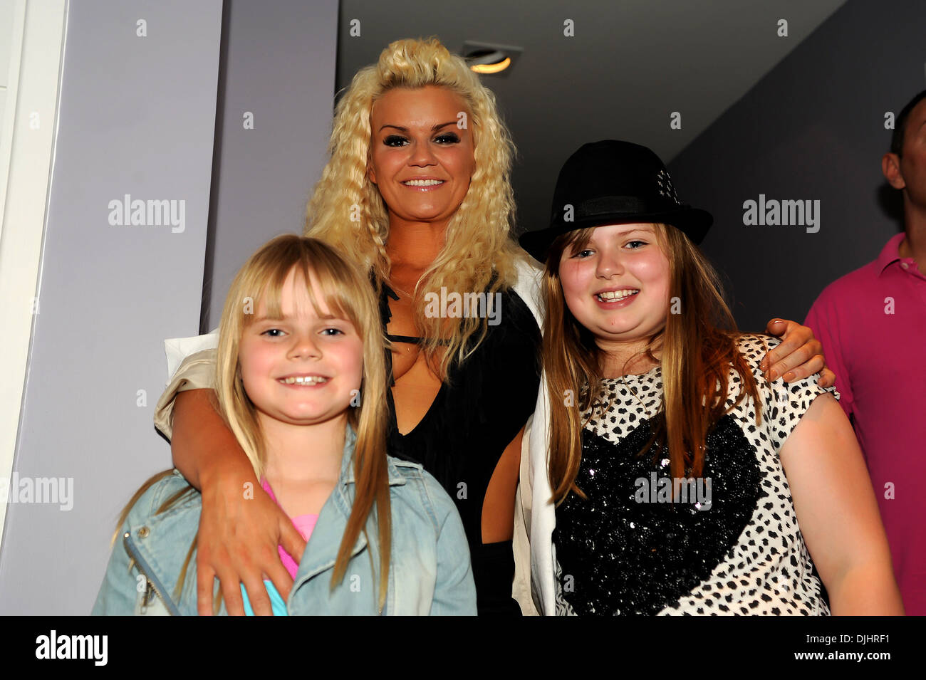 Kerry Katona And Her Daughters Molly Marie McFadden And