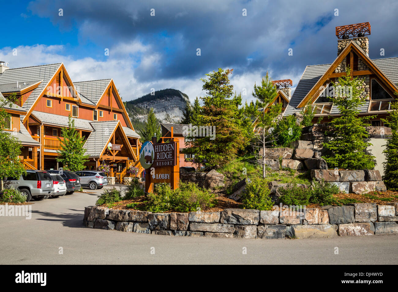 the hidden ridge resort on tunnel mountain in banff, banff national