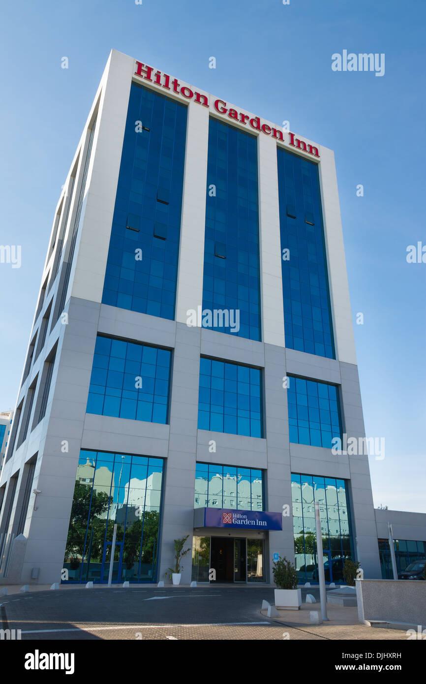 Hilton Garden Inn Seville Spain   Stock Image