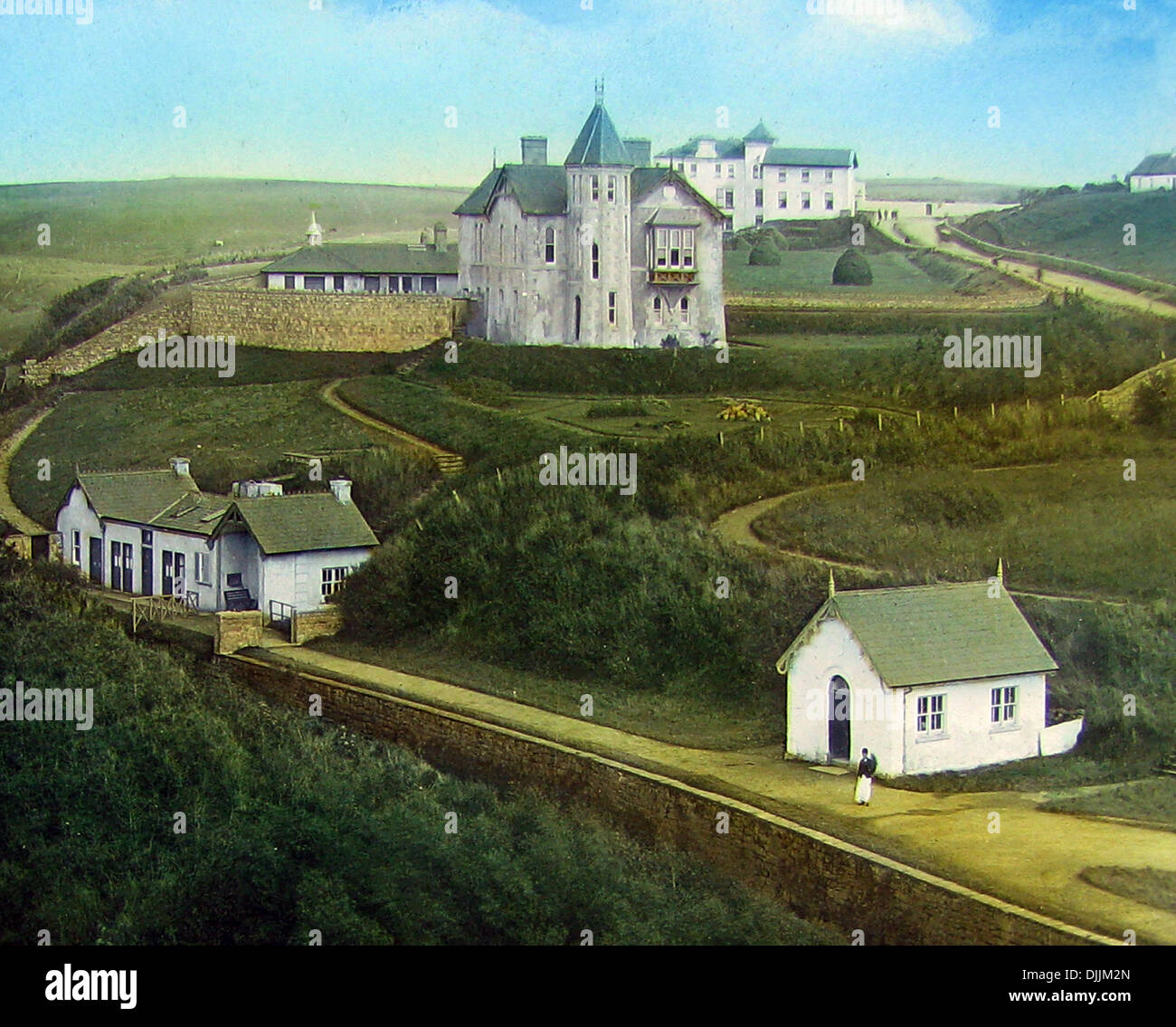 Lisdoonvarna County Clare Victorian period - Stock Image