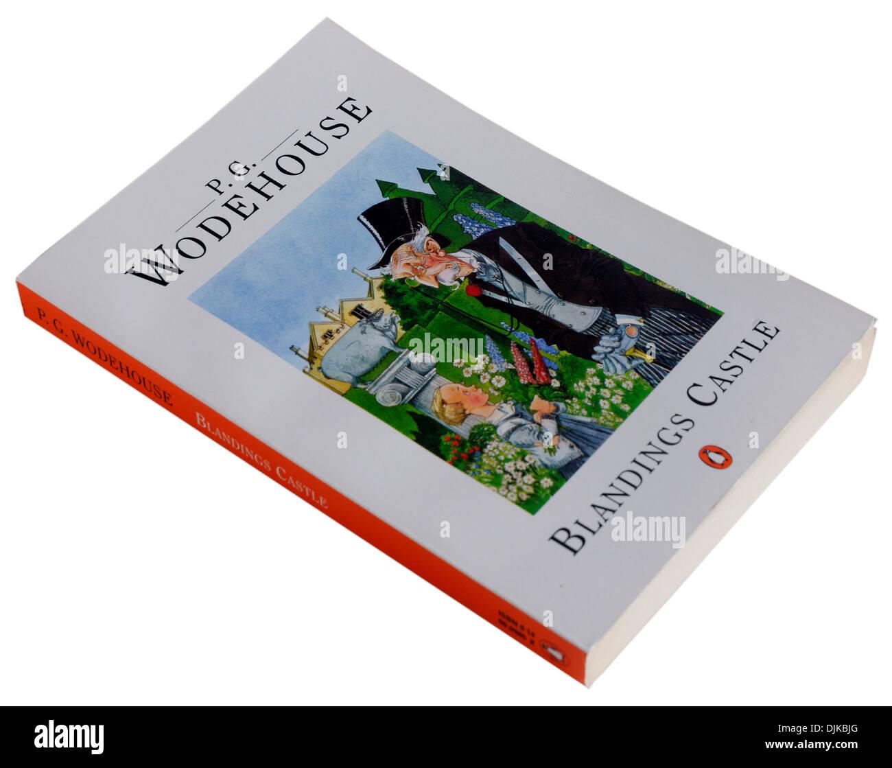 Blandings Castle by PG Wodehouse Stock Photo