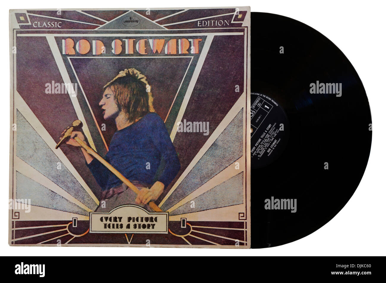 Every Picture Tells a Story album by Rod Stewart - Stock Image