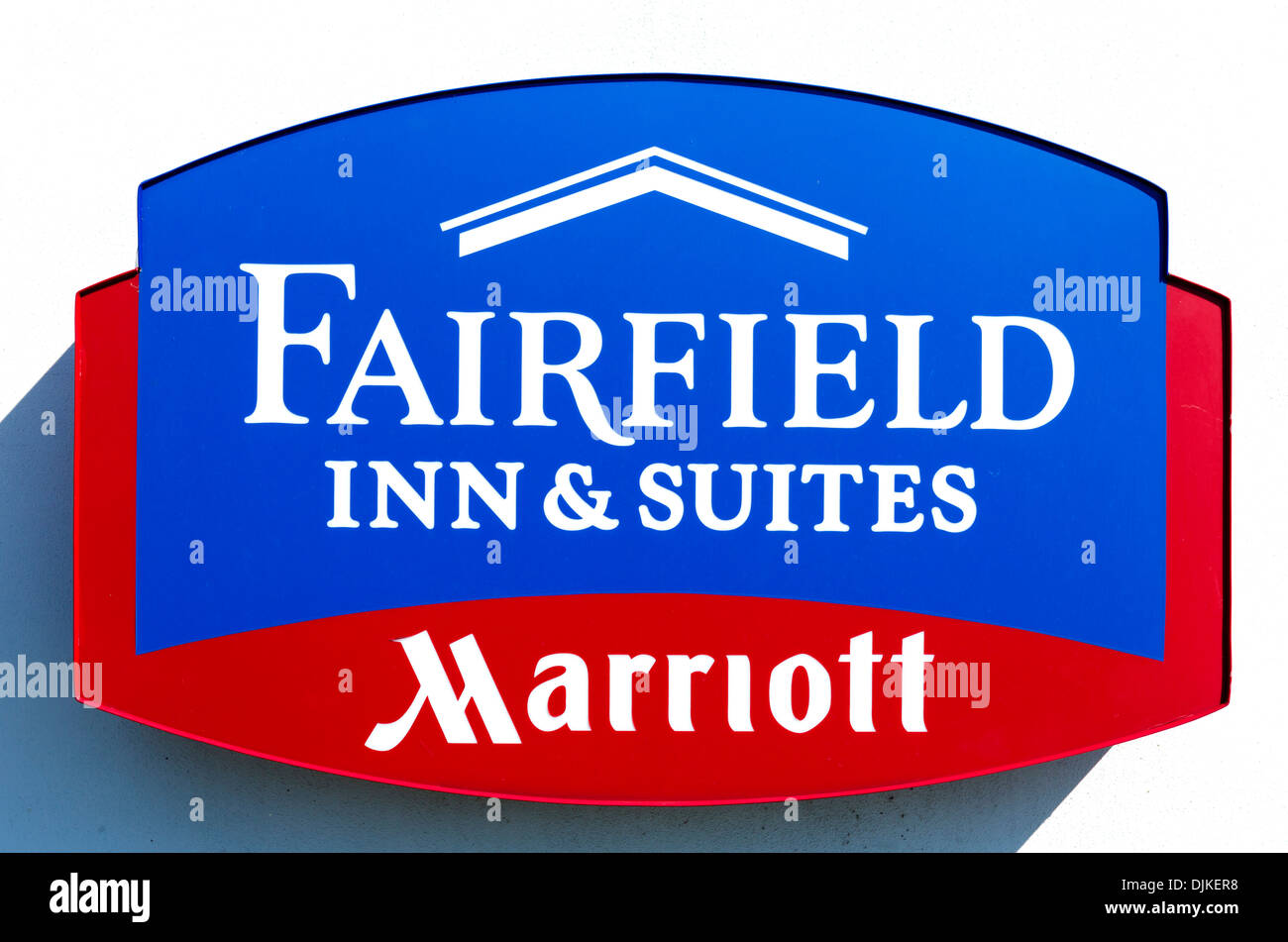 Fairfield Inn and Suites by Marriottl sign, Central Florida, USA - Stock Image
