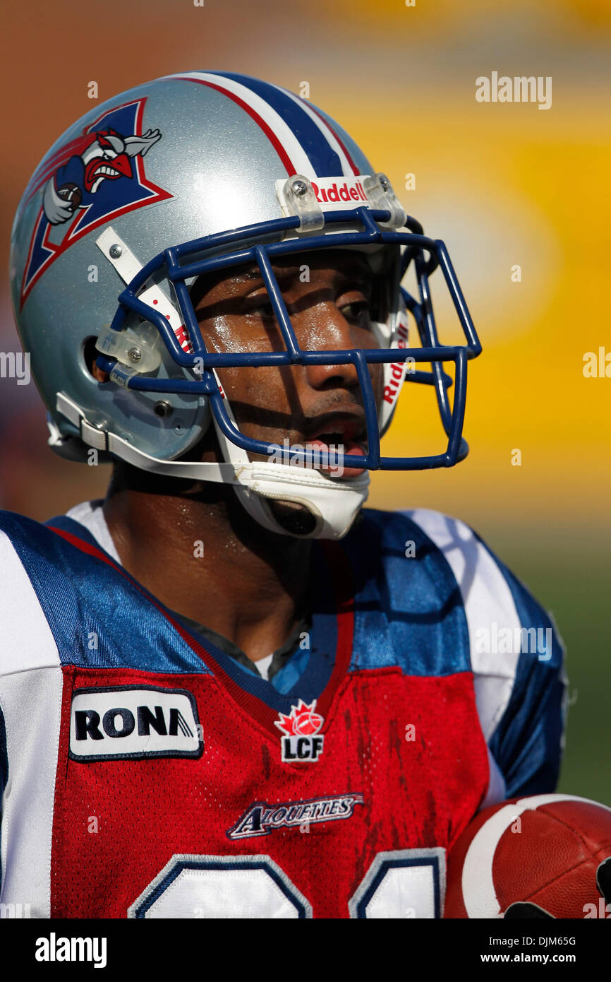 Kerry Watkins CFL Signed Photo Montreal Alouettes