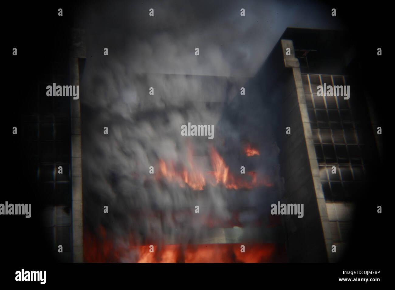 Factory Fire Bangladesh Stock Photos & Factory Fire Bangladesh Stock