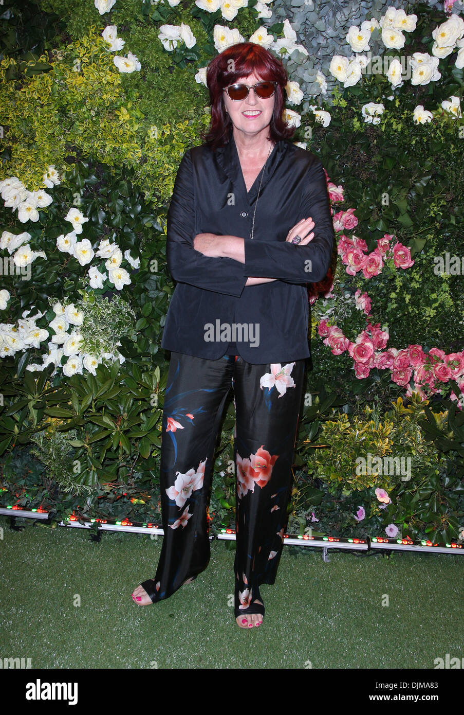 Janet Street-Porter John Lewis Beauty Hall Launch party - Arrivals London England - 08.05.12 - Stock Image