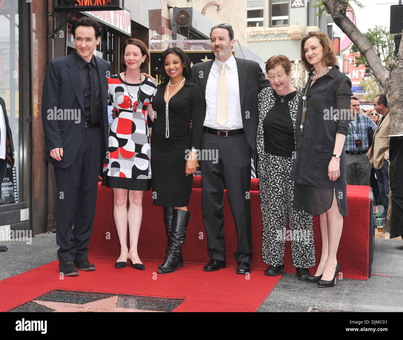 John Cusack family John Cusack honored with a Star on ...