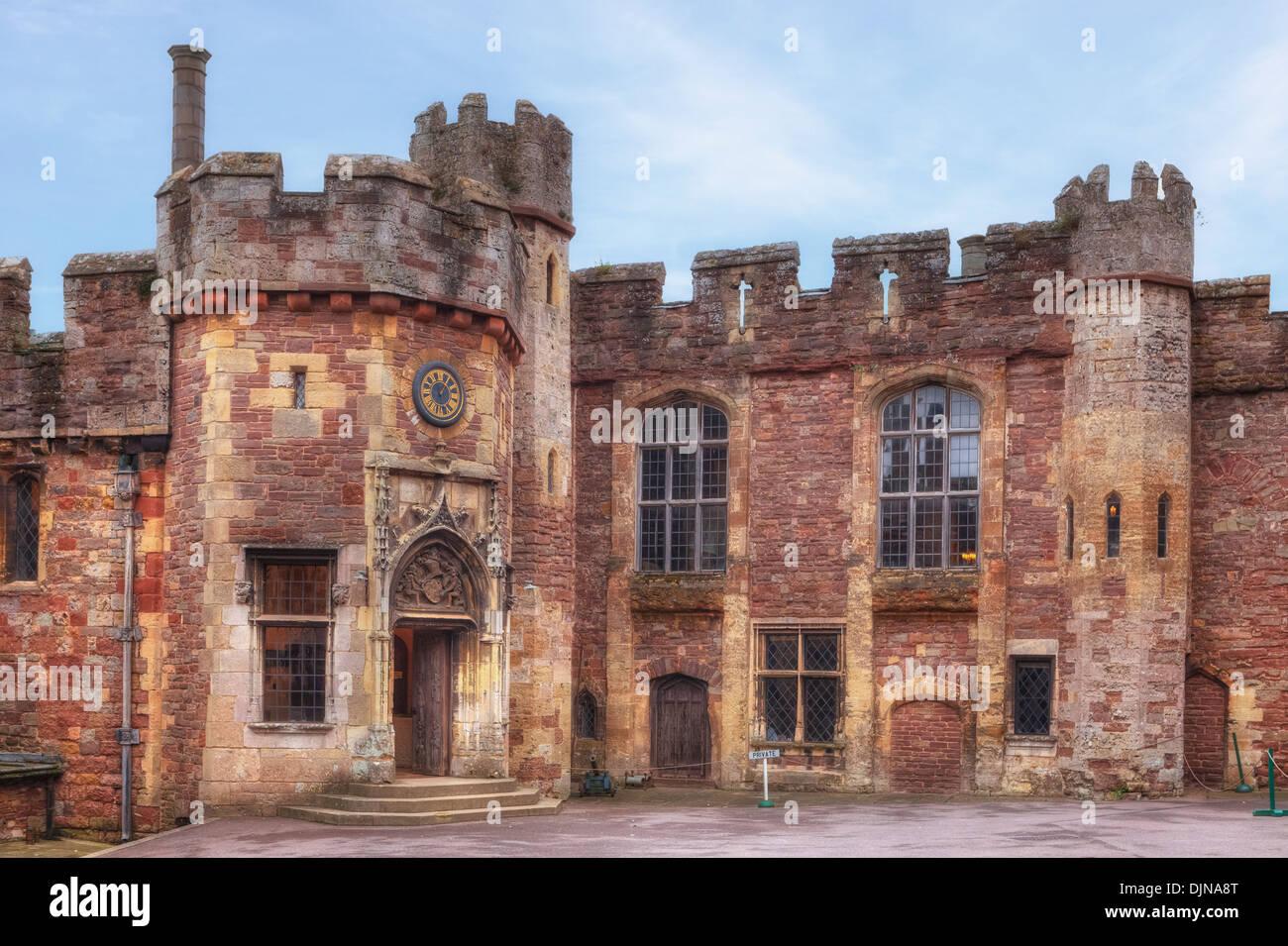 Berkeley Castle, Gloucestershire, England, United Kingdom - Stock Image