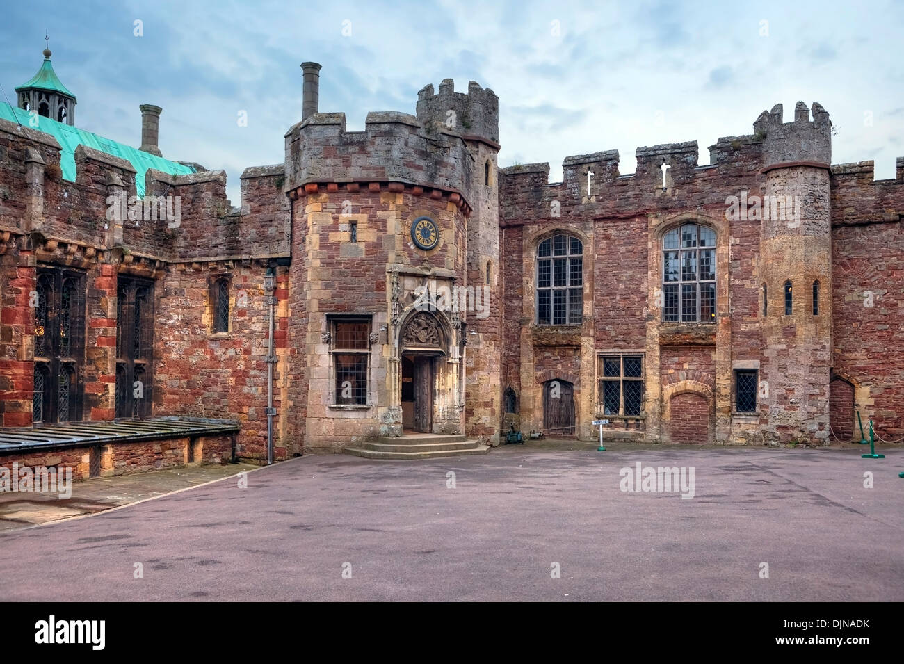 Berkeley Castle, Gloucestershire, England, United Kingdom - Stock Image