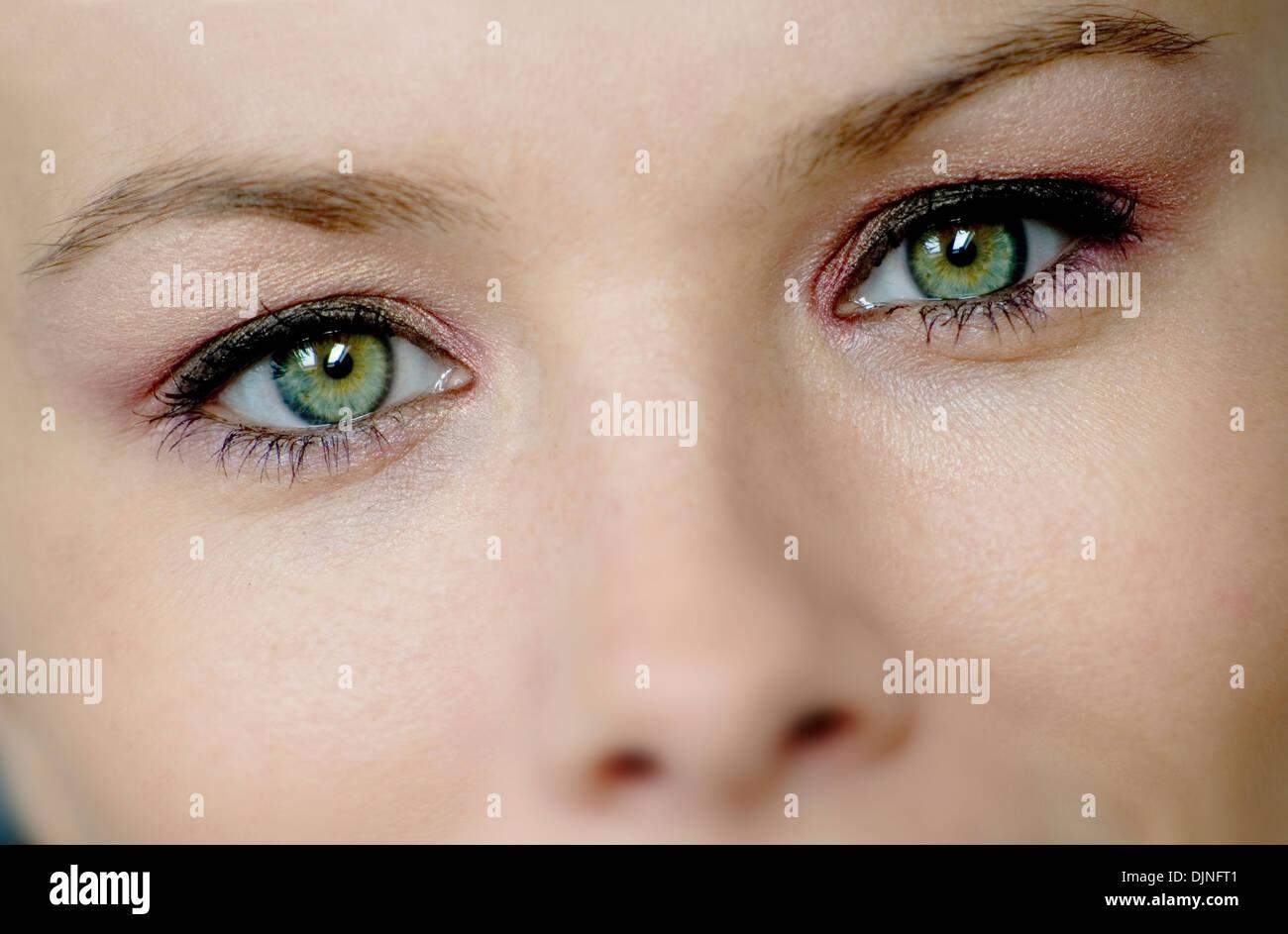 Natural Light Eyes Close Up