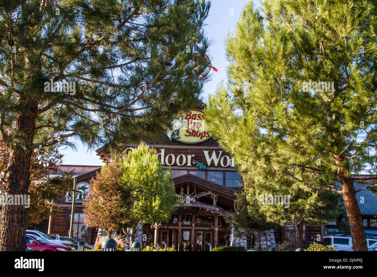 The Bass Pro Shops store in Rancho Cucamonga California on Thanksgiving Day 2013 - Stock Image