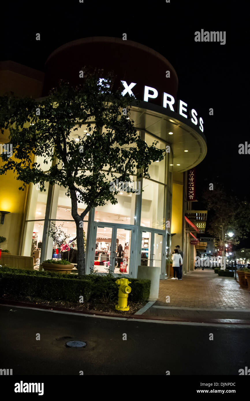 03922a5069 The Express Clothing Store at Victoria Gardens open air Shopping Mall in  Rancho Cucamonga California