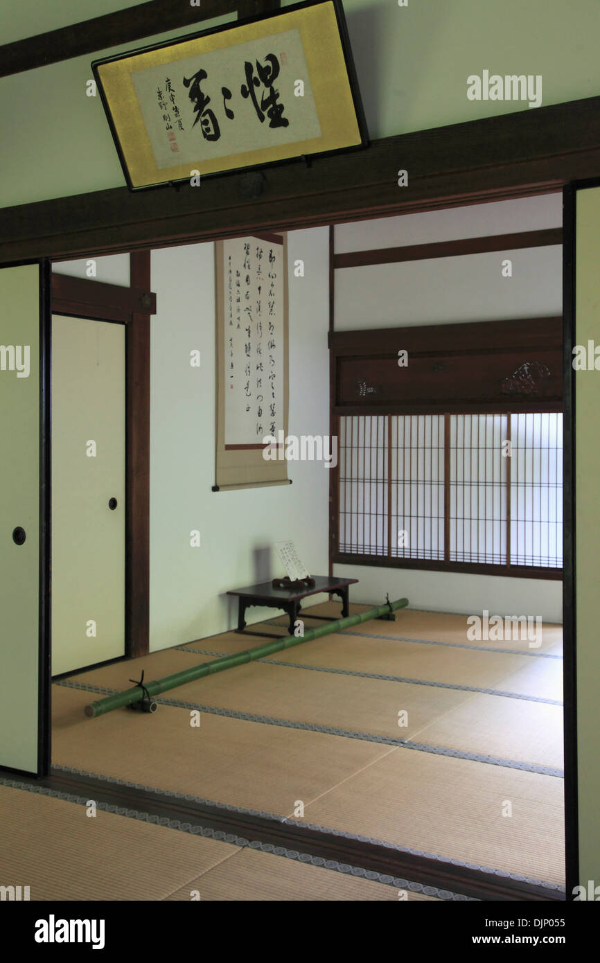 Japan, Kyoto, Daitokuji Temple, Koto-in, interior, - Stock Image