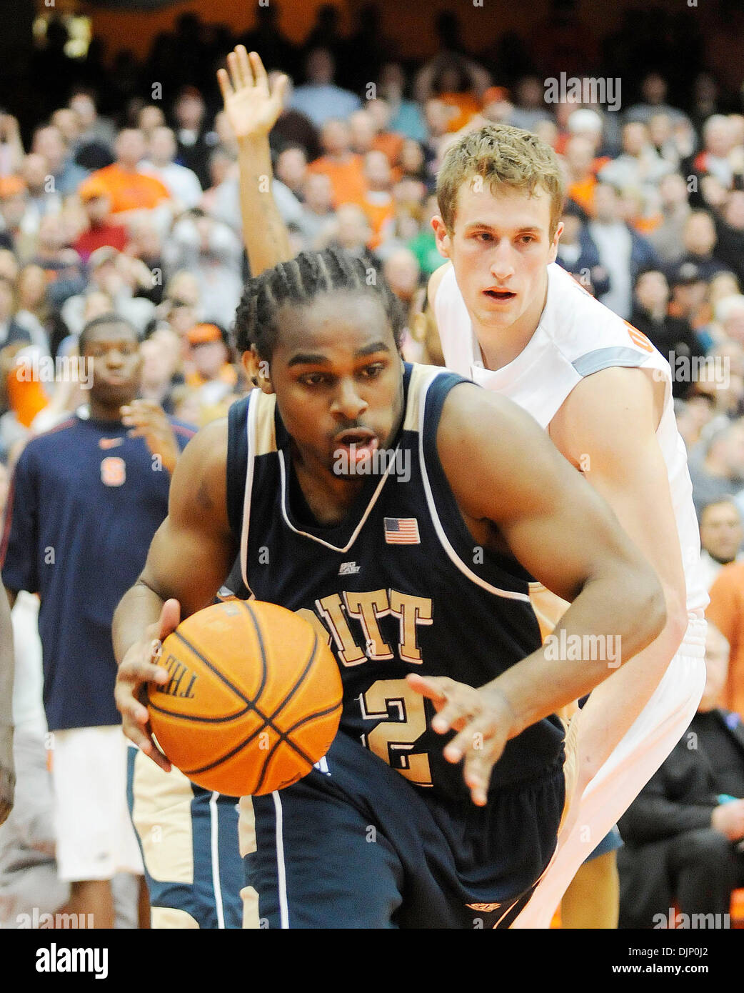 March 1 2008 The University Of Pittsburgh Panthers Mens Basketball