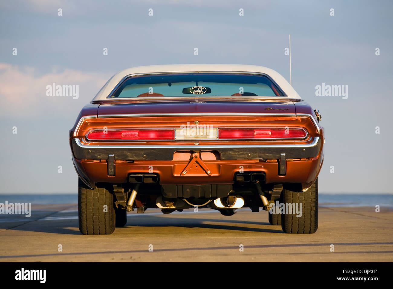 1970 Dodge Challenger Muscle Car Rear Stock Photo 63178532 Alamy