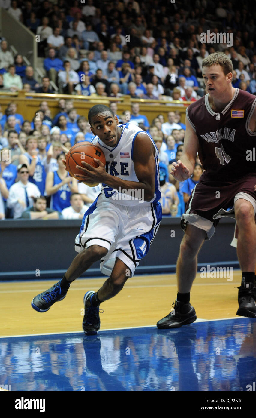 Nov 23, 2008 - Durham, North Carolina, USA - NCAA Basketball: Duke Bluedevils (20) ELLIOT WILLIAMS drives toward the basket as the Duke University Bluedevils defeat the University of Montana Grizzlies with a final score of 78-58 as they played mens college basketball at Cameron Indoor Stadium located in Durham. (Credit Image: © Jason Moore/ZUMA Press) - Stock Image