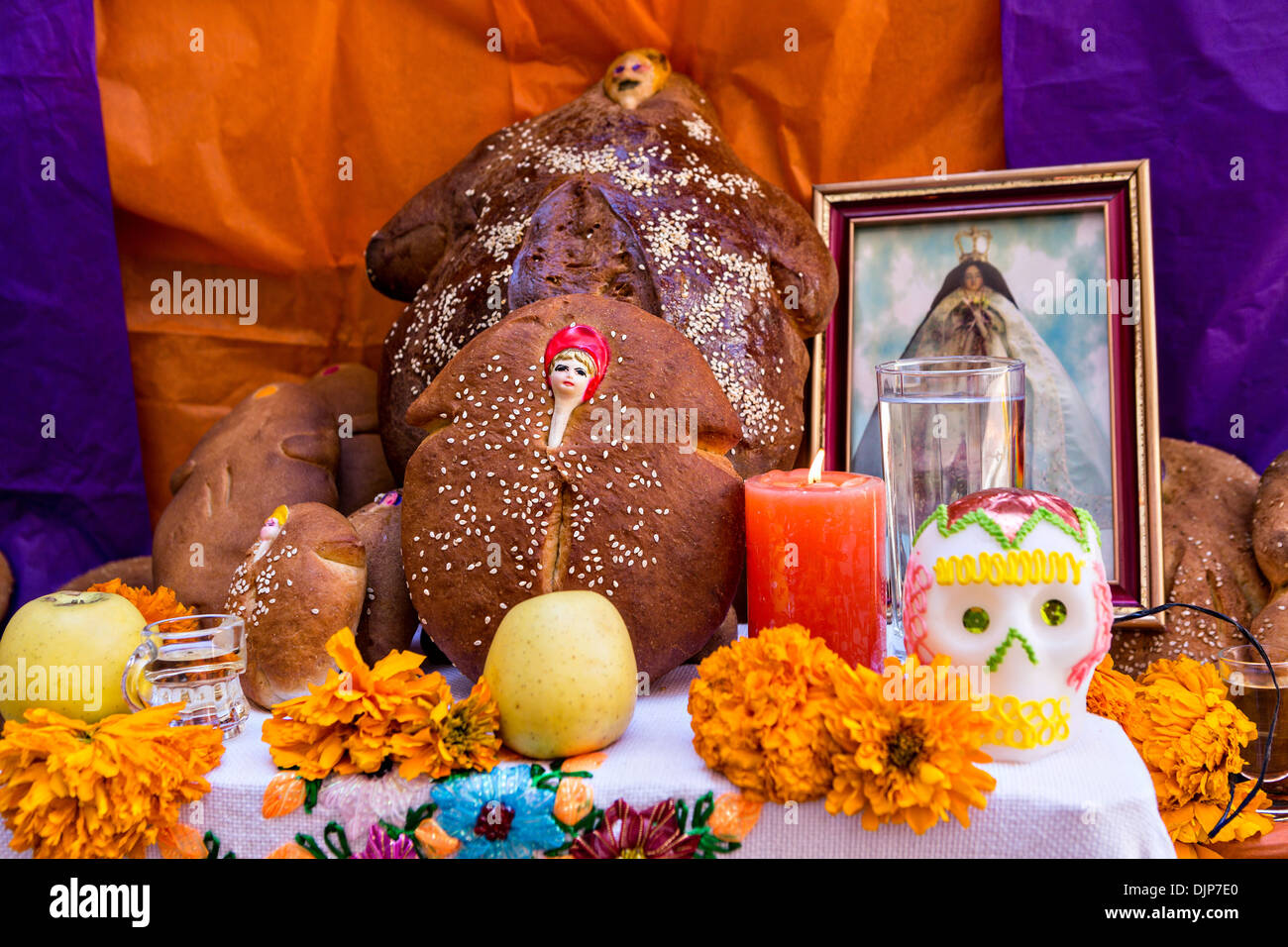 how to set up an altar at home