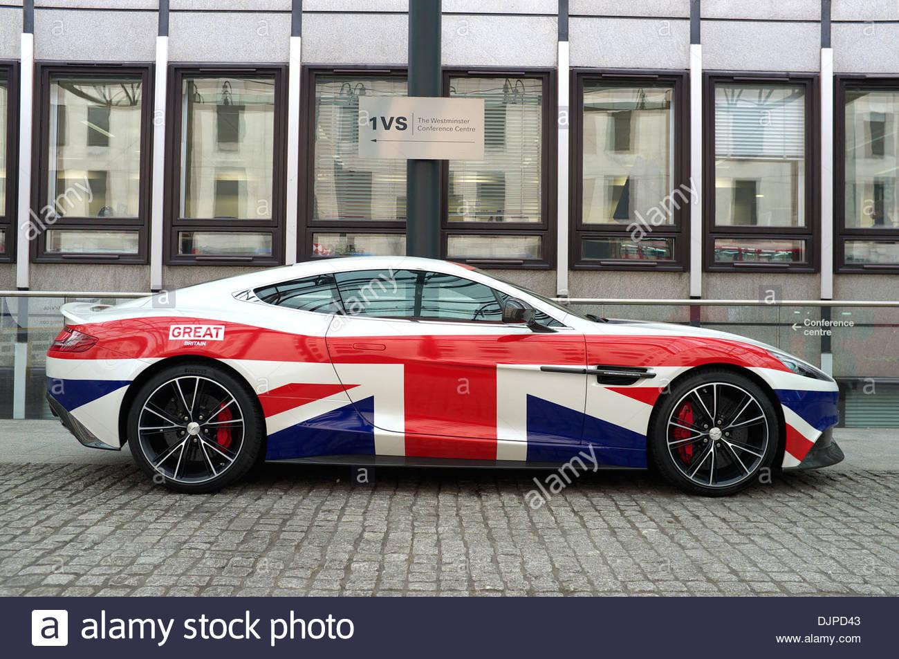 British Sports Car Manufactured In Great Britain Uk Stock Photos