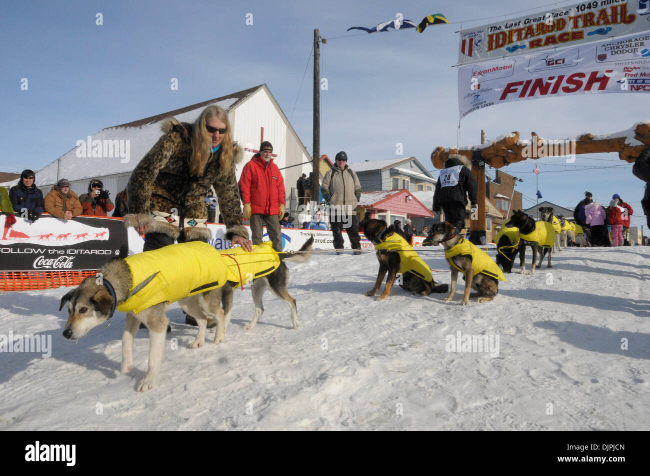 pics Libby Riddles sled dog musher