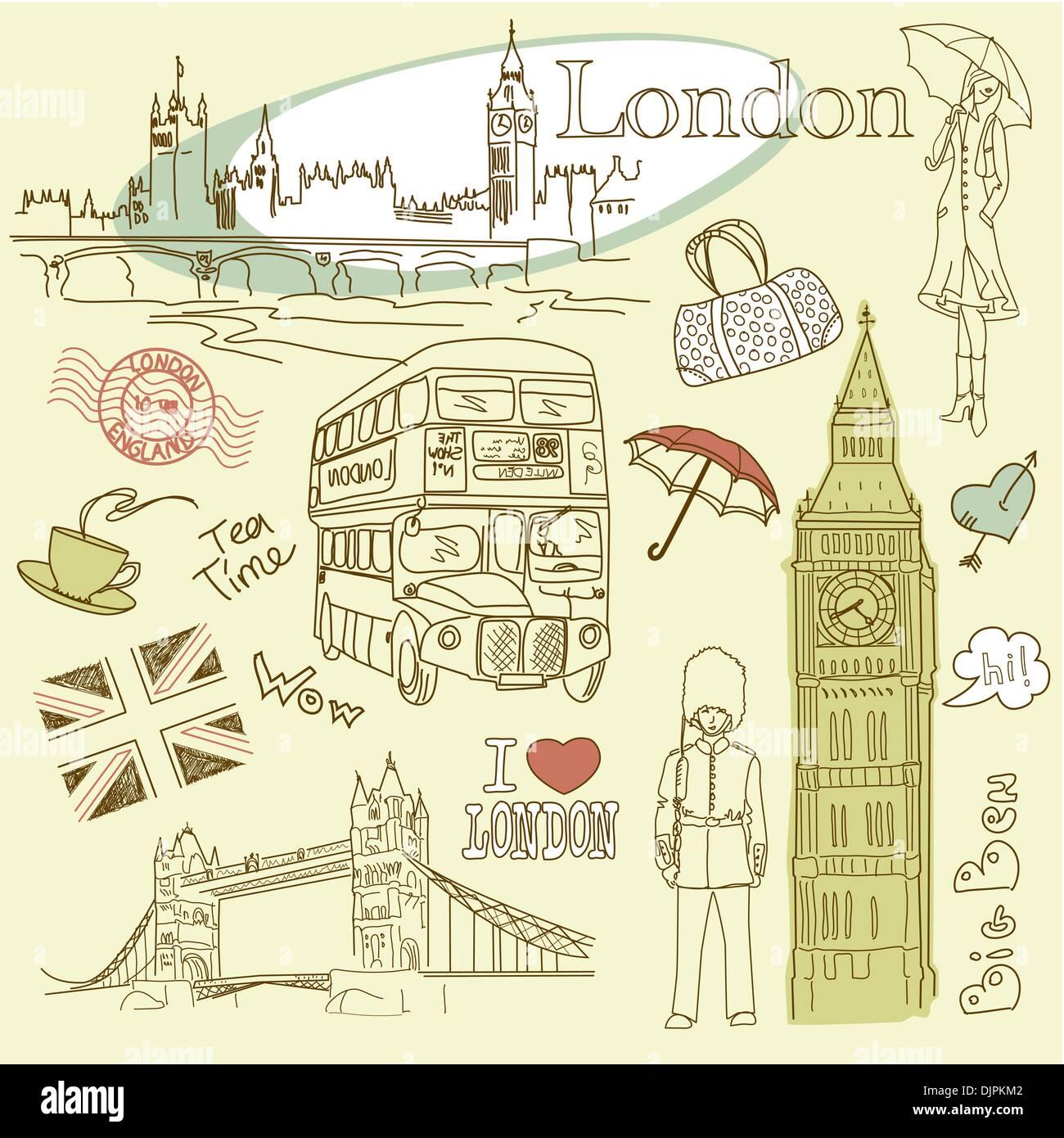 Красивые картинки лондона личного дневника